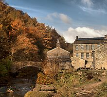 Old Mill. by Irene  Burdell