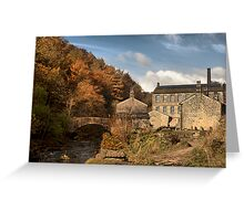 Old Mill. Greeting Card