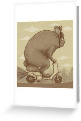 Bunny Ride by pigboom
