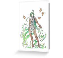 plant elf Greeting Card
