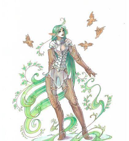 plant elf Sticker