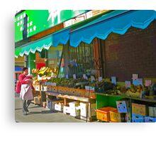 Chinatown Market Place Canvas Print