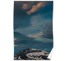 Tromsø Mountain Top, Norway 2012 Poster