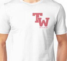 Twice varsity logo Pink Unisex T-Shirt