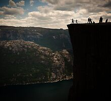 Pulpit Rock, Norway 2012 by YorkStCreative