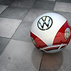 VW ball _ Red by vinpez