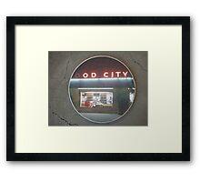 food city Framed Print