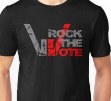 Rock the Vote Heavy Metal Style Unisex T-Shirt