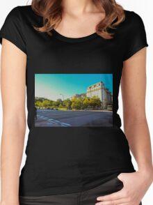 Washington D.C.  Women's Fitted Scoop T-Shirt
