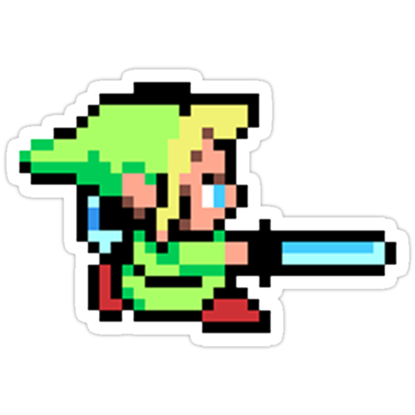 8-Bit Link by impulsiVdesigns