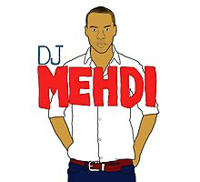 DJ Mehdi - T-Shirt Photographic Print