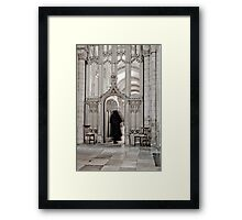 The Ghost of Canon Michael Stagg  Framed Print
