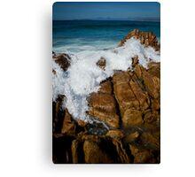 Granite Coast line, Tasmania Canvas Print