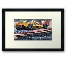 Lotus 99T 1987 Ayrton Senna Framed Print