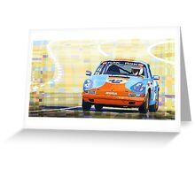 Porsche 911 S  Classic Le Mans 24  Greeting Card