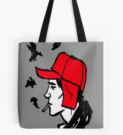 Red Hunting Cap Tote Bag