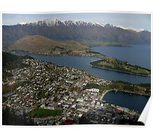 Picture-Post-Card Queenstown Poster