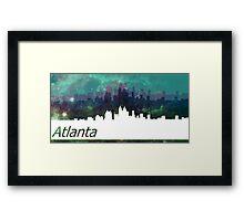 Atlanta. Framed Print