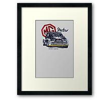 Rally Group B-MG Metro Framed Print