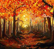 Autumn Forest by Richard Eijkenbroek