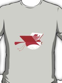 Laptop bird illustration T-Shirt