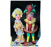 Punch & Judy Bakery ~ Bridport Poster