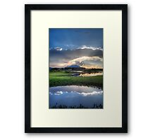 Breaks Framed Print