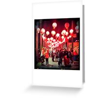 Noodle Festival Greeting Card