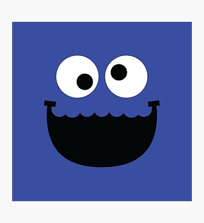 """Muppets """"Cookie Monster"""" Photographic Print"""