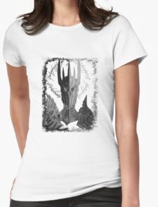 Two faces of Sauron Womens Fitted T-Shirt