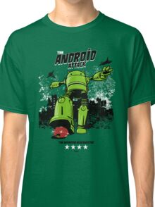 ANDROID ATTACK Classic T-Shirt