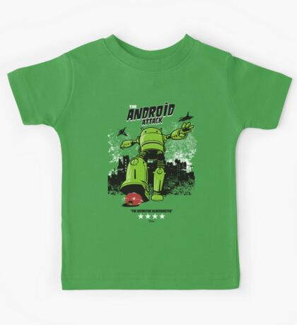 ANDROID ATTACK Kids Clothes