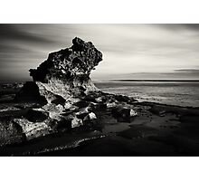 Jagged Moods Photographic Print