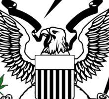 United States of Marijuana Sticker