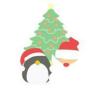 Santa & Penguin #1 by simplepaperplan