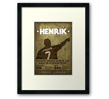 Henrik Larsson  Framed Print