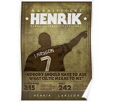 Henrik Larsson  Poster