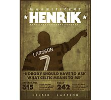 Henrik Larsson  Photographic Print