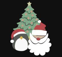 Santa & Penguin #1 Kids Tee