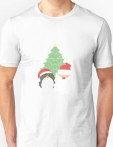 Santa & Penguin #1 T-Shirt