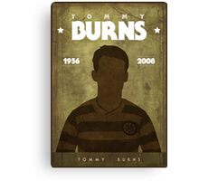 Tommy Burns Canvas Print