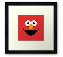"""Muppet """"Elmo"""" Framed Print"""