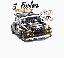 Rally Group B-Renault 5 Turbo Unisex T-Shirt