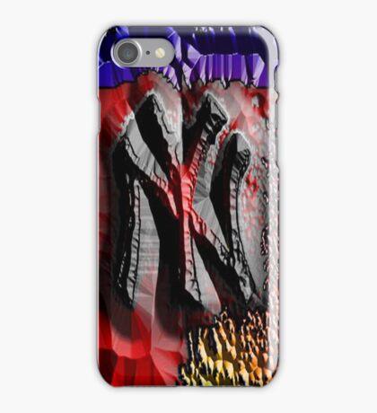 NEW YORK @ NITE iPhone Case/Skin