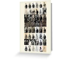48 off 144 Portraits of Baudelaire: poe_T_ransfer Greeting Card