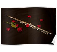 Love the Flute Poster