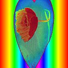 """""""Psychedelic Poppy IPhone """" by Rosehaven"""