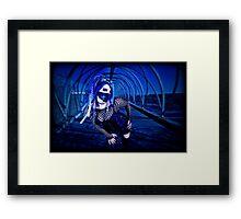 Blu III Framed Print