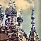 Orthodox Church - San Remo - Italy by Gilberte