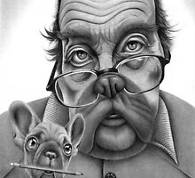 MR TABERNACLE AND FLOSSY THE WONDER DOG by Damian  Swallow